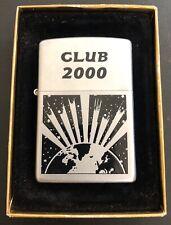 CAMEL CLUB 2000 JTI JAPAN TOBACCO, RARE! PROTOTYPE RJR ZIPPO LIGHTER MINT IN BOX