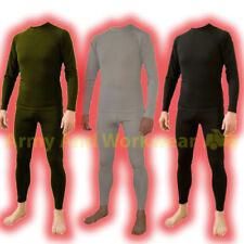Unifarbene lange Herren-Unterhosen Set-Label