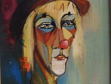After Modigliani 'BILLY' Portrait Vintage Oil Painting