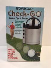 Used Technasonic Golf CheckGo Original Sweet Spot Finder