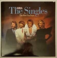 UK Vinyl Double Album, The Singles, The First Ten Years by Abba