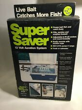 Super Saver Aeration System Vintage New In Box. Old Style Box.