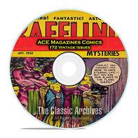 Baffling Mysteries, Beyond, Lightning Comics 172 Issue Golden Age Comics DVD C83