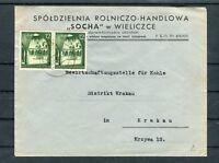 Firmenbrief 12 Gr. Mi.-Nr. 43 MeF Wieliczce-Krakau - b4965