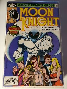 MOON KNIGHT #1 (1980) VF/NM FIRST ONGOING SERIES! FIRST APP RAOUL BUSHMAN VF/NM