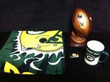 GREEN BAY PACKERS SuperBowl XLV Champions Lot: Football, Mug, Money Clip & Towel