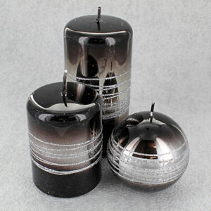 Black Sea Candles By G Decor