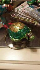 Snorkling Sea Turtle Tropical Christmas Ornament ~ NWT