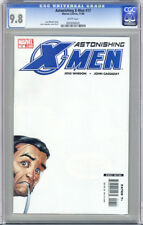 ASTONISHING X-MEN #17 FIRST PRINTING WHITE PAGES CGC 9.8 NM/MT UNSCRATCHED