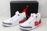 ''Brand New'' Size 10 Nike Air Jordan 3 Retro Katrina Hall Of Fame 136064-116