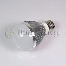 Bombilla 6W LED esferica E27 Blanco Neutro 220V 480 lumen Bajo Consumo equiv.50W