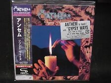 ANTHEM Gypsy Ways JAPAN SHM MINI LP CD Loudness Animetal 5X Dead Claw Solitude