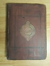 24 Antique maps.  1872 Students atlas. Cover in poor condition.