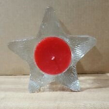 Avon Star Bright Votive Candle Holder New without box