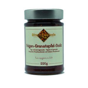 Marmelade Konfitüre von Streuobstwiesle Feigen-Granatapfel-Gsälz - 220 g