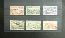 FRANCE SERIE SPORT HELSINKI 960 à 965* TRACE DE CHARNIERE / GOMME D'ORIGINE 1953