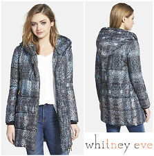WHITNEY  EVE  * MARGARITA * HOODED QUILTED  COAT  Sz XS  Nordstrom   NEW  $ 218