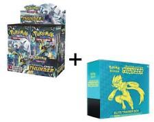 Pokemon LOST THUNDER Booster Box + ELITE TRAINER SUN & MOON inglés