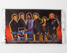 Babylon 5 CCG Crusade Edition 9-Card Booster Pack Sealed New Collectible Game