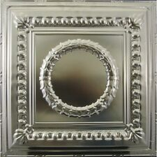 #107-Tin Ceiling Tiles - Unfinished - Nailup, 5 pcs per box