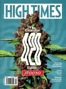 High Times Magazine April 2021, The Essential 420 Guide, Brand New/Sealed