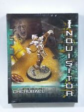 Warhammer 40K Inquisitor 54mm - Cherubael - Sealed - New - Metal - Chaos