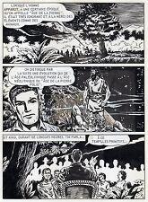 BOB LEGUAY METAMORPHOSE PLANCHE ORIGINALE TIM L'AUDACE ANNEES 1950 PAGE 10