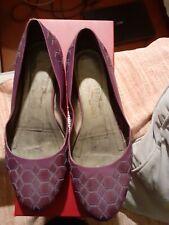 Scarpe Ballerine Salvatore Ferragamo , colore Viola, Misura 38,5