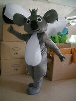 Cosplay Koala Bear Mascot Costume Halloween Party Fancy Dress Adults Xmas Suits