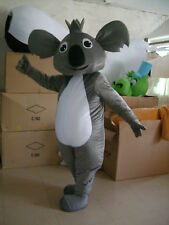Koala Bear Animal Mascot Costume Party Dress Adult Size Parade Xmas Cosplay Suit