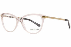 Burberry B-2280 3780 Eyeglasses Frame Women's Grigio Transparent Full Rim 52mm