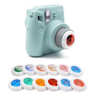 Colour Filter Close Up Lens For Fujifilm Instax Mini  Instant Camera 7/8/8+/9/KT