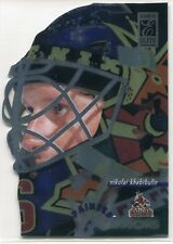 1996-97 Donruss Elite Painted Warriors 9 Nikolai Khabibulin 2297/2500