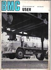 BMC User Aug-Sep 1967 Vol1 No1 Austin Morris JU250 FX4 Taxi Mini Van FJ K140 +