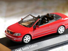 MINICHAMPS OPEL ASTRA CABRIOLET 2000 RED 1:43 ART.430049131 NEW DIE-CAST