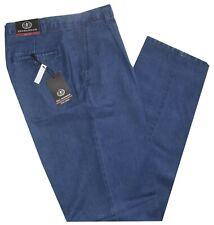 Pantalone Jeans uomo dalla 46 alla 62 taglio classico pence tela leggera estivo