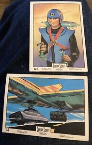 Anglo Captain Scarlet Cards x2