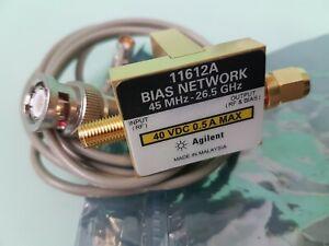 Bias Tee, Agilent 11612A 45 MHz to 26.5 GHz