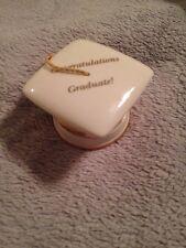 Lenox Graduation Wishes Treasure Box