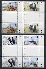 FALKLAND 2004 Naturschutz Vögel Birds Gutter Stegpaare 903-906 **