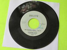 """CHOWDER HEAD - THE BOSTON STROLL PART 1 / PART 2 45 7""""  RARE R&B SOUL DANCER"""
