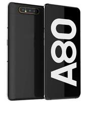 Samsung Galaxy A80 128GB Unlocked Smartphone, Phantom Black - Excellent A+