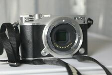 "Nikon 1 J5 20.8MP Digital Camera - Black (Body Only) ""Excellent Condition"""