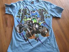 Boys t-shirt Quad bike size 12 blue