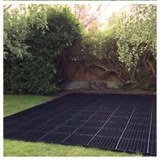 More details for shed bases eco plastic grids paver log cabin base greenhouse base field shelters