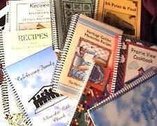 BOOK/COOKBOOKS Glasgow, KY & Allentown, PA & Norfolk, MA 3 COOK BOOKS LOT #13