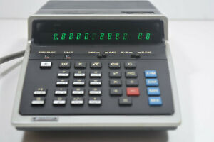 SHARP PC-1001 CALCULATOR. VINTAGE, WORKING.