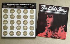 ELVIS PRESLEY 4 VINYL LPS BOX SET-RCA VICTOR WORLDWIDE 50 GOLD AWARD HITS