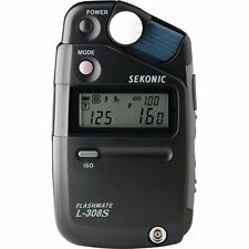 Sekonic Flashmate l-308s Digital Luz / Flash Metros
