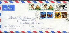 Nouvelle-Zélande 1971 commercial air mail cover to UK #C42180